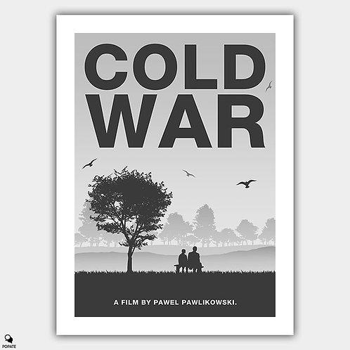 Cold War Minimalist Poster