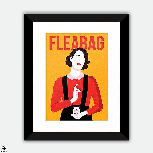 Fleabag Minimalist Framed Print - Madonna