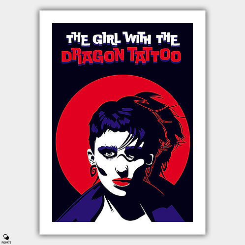 The Girl With The Dragon Tattoo Alternative Poster