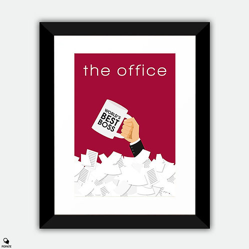 The Office Minimalist Framed Print