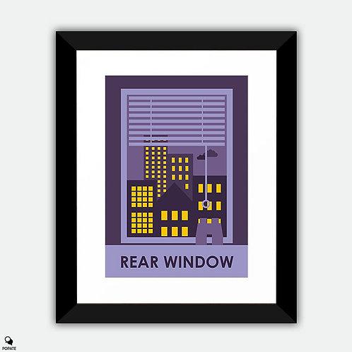 Rear Window Alternative Framed Print