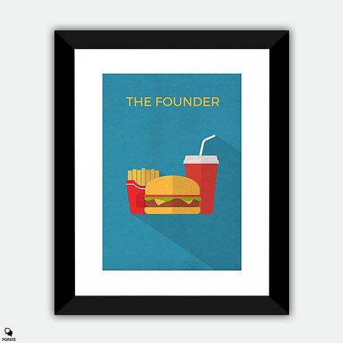 The Founder Minimalist Framed Print