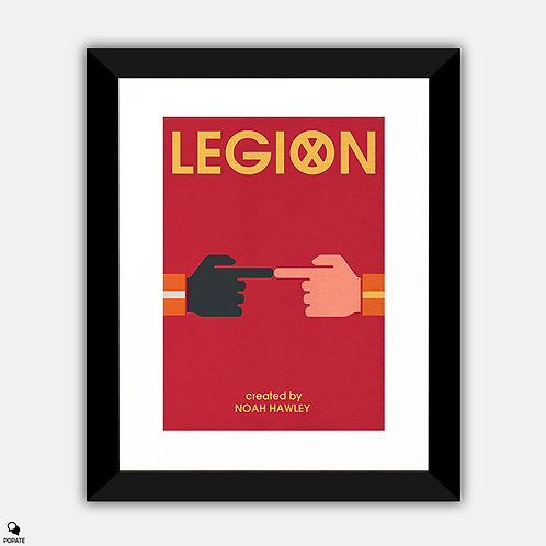 Legion Minimalist Framed Print -Touch