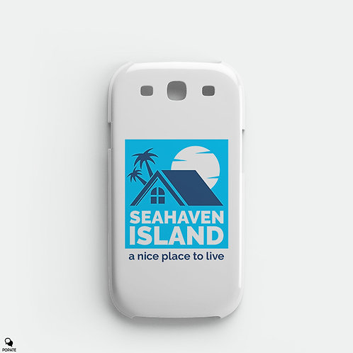 Seahaven Island Galaxy Phone Case from The Truman Show