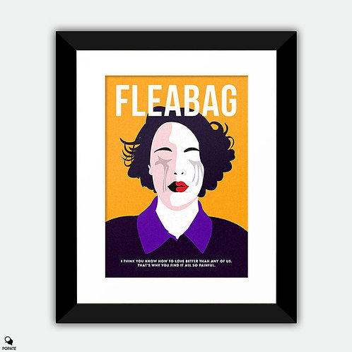 Fleabag Minimalist Framed Print - How to Love