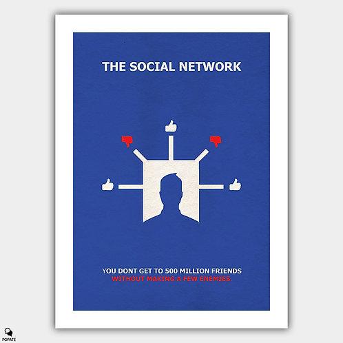 The Social Network Alternative Minimalist Poster - Dislike