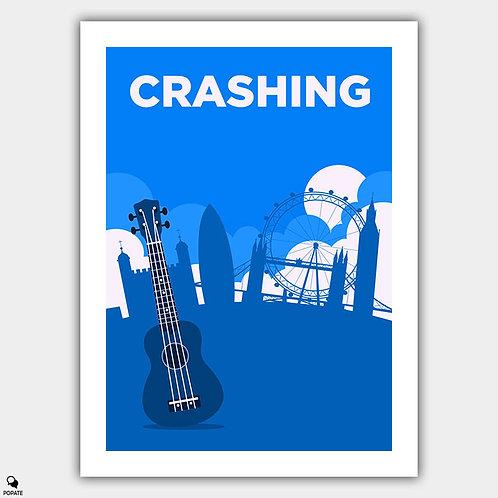 Crashing Minimalist Poster
