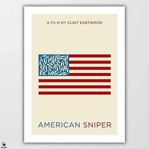 American Sniper Minimalist Poster