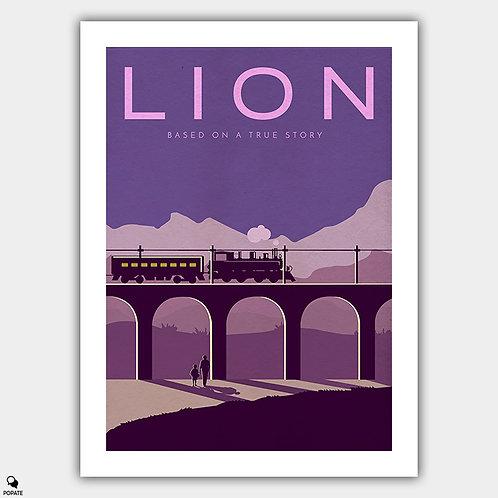Lion Alternative Vector Art Poster