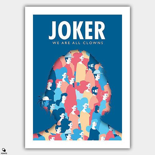 Joker Alternative Poster - We Are All Clowns