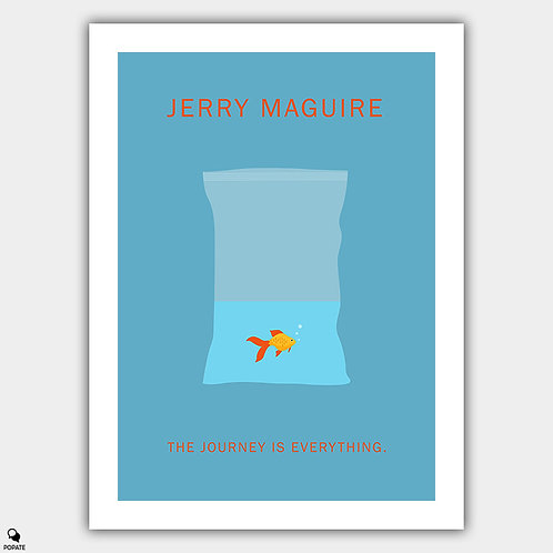 Jerry Maguire Minimalist Poster