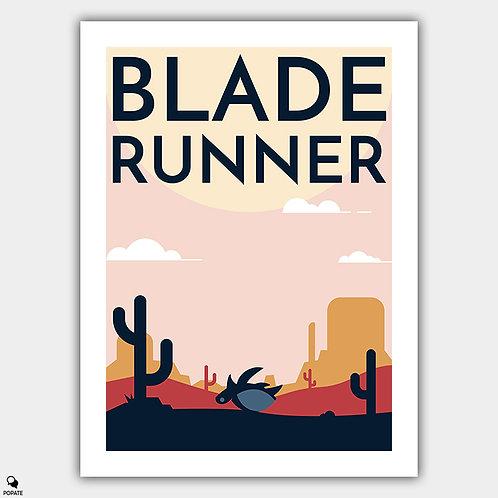 Blade Runner Alternative Poster - Tortoise