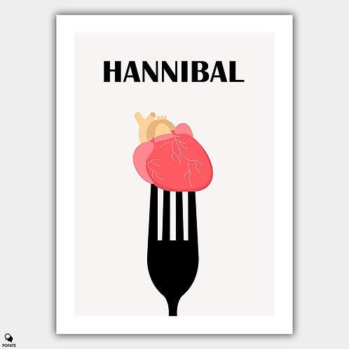 Hannibal Minimalist Poster - The Chesapeake Ripper