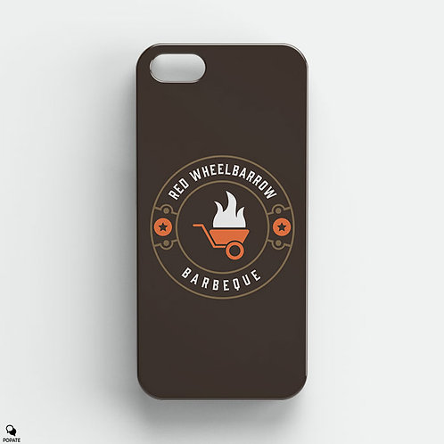 Red Wheelbarrow BBQ iPhone Case from Mr Robot
