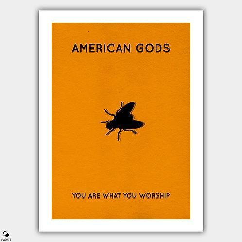 American Gods Minimalist Poster - Laura