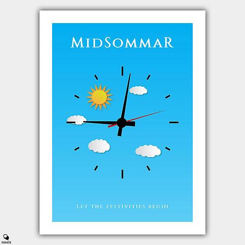 Midsommar Minimalist Poster