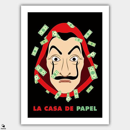 La Casa De Papel Minimalist Poster