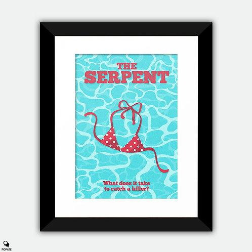 The Serpent Minimalist Framed Print