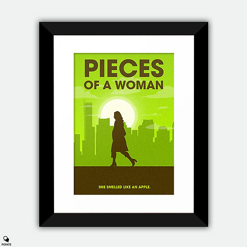 Pieces of a Woman Minimalist Framed Print