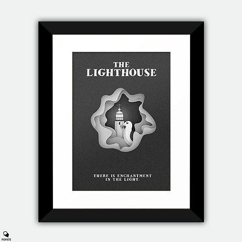 The Lighthouse Minimalist Framed Print