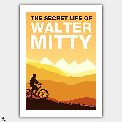 The Secret Life of Walter Mitty Minimalist Poster