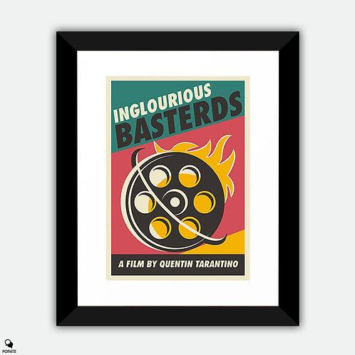 Inglourious Basterds Vintage Framed Print - Film