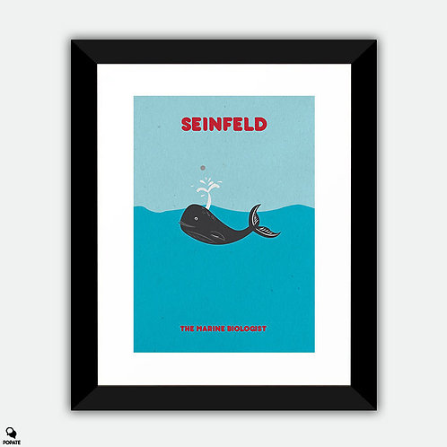 Seinfeld Alternative Framed Print - The Marine Biologist