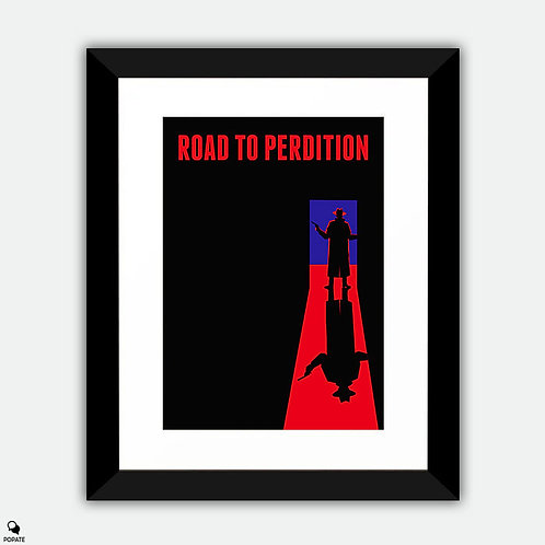 Road to Perdition Minimalist Framed Print - The Mob