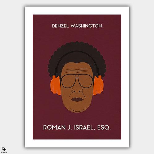 Roman J. Israel, Esq. Minimalist Poster