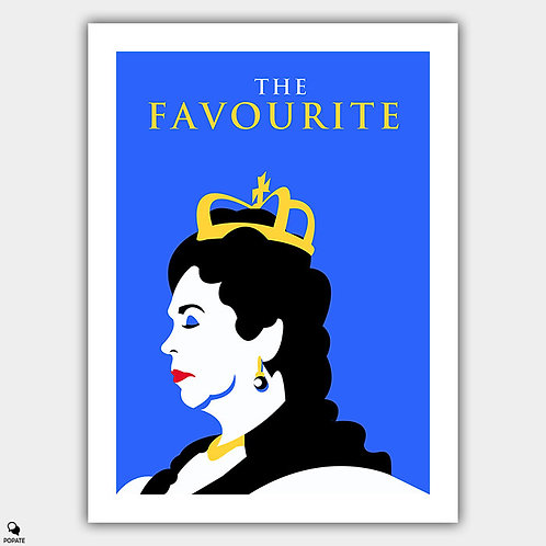 The Favourite Minimalist Poster - Queen Anne
