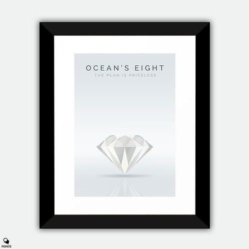 Ocean's Eight Alternative Framed Print