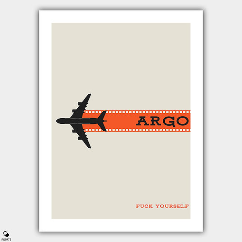 Argo Minimalist Poster