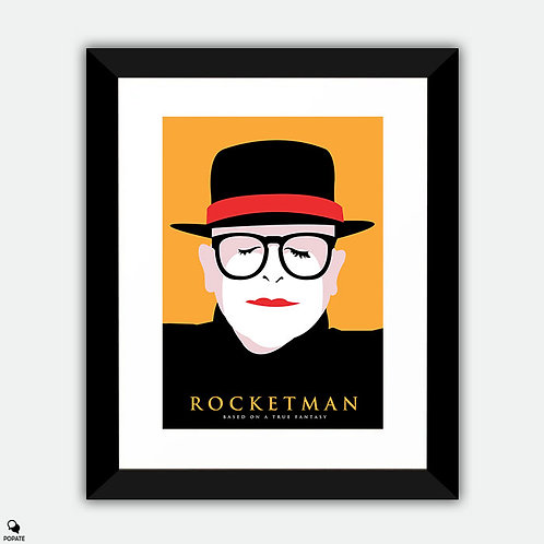Rocketman Alternative Framed Print