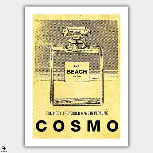 Seinfeld Vintage Alternative Poster - Cosmo Beach