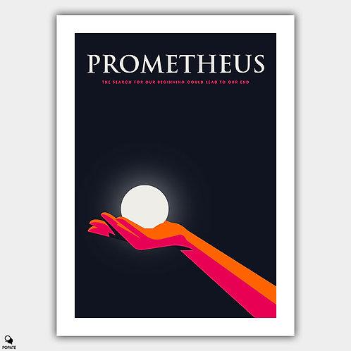Prometheus Minimalist Poster - Fire