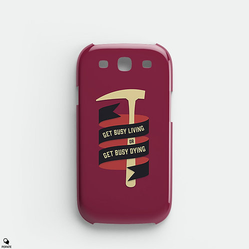 Get Busy Living Alternative Galaxy Case from The Shawshank Redemption
