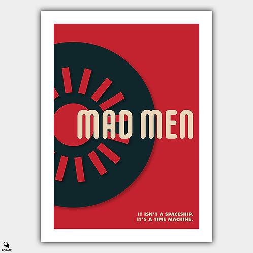 Mad Men Vintage Bauhaus Poster