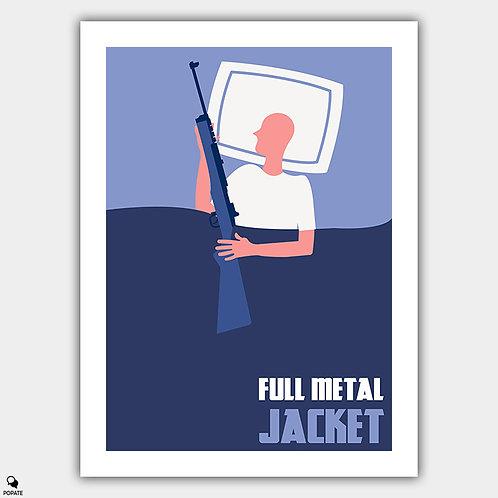 Full Metal Jacket Minimalist Poster #2