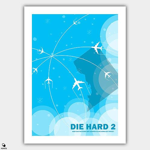 Die Hard 2 Minimalist Poster