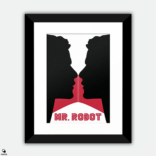 Mr. Robot Alternative Framed Print - There is Only Me