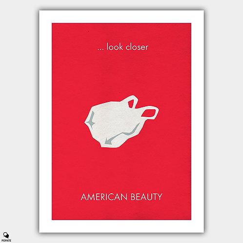 American Beauty Minimalist Poster