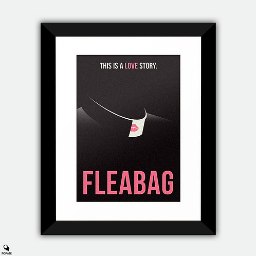 Fleabag Minimalist Framed Print - A Love Story