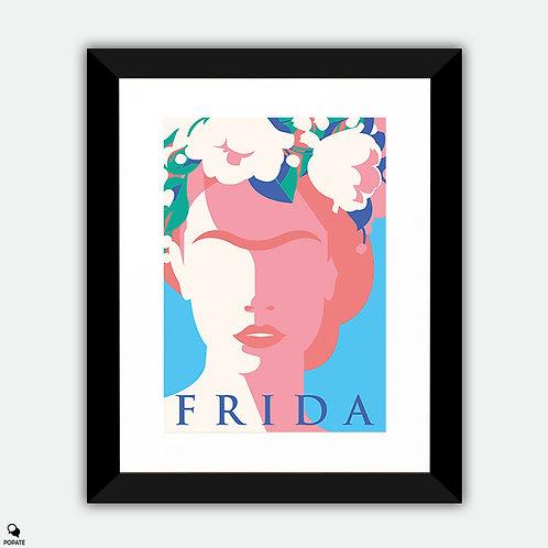 Frida Minimalist Framed Print