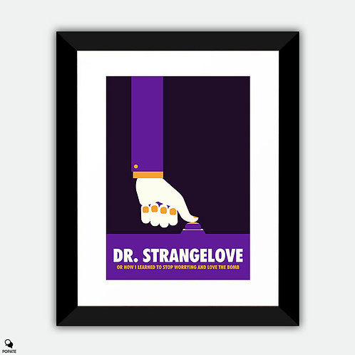 Dr. Strangelove Minimalist Framed Print