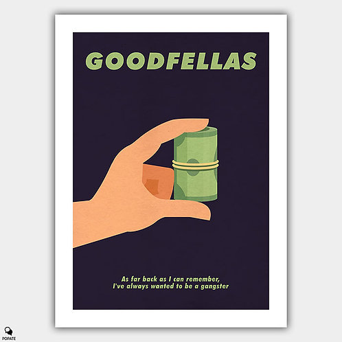 Goodfellas Minimalist Poster - This Much