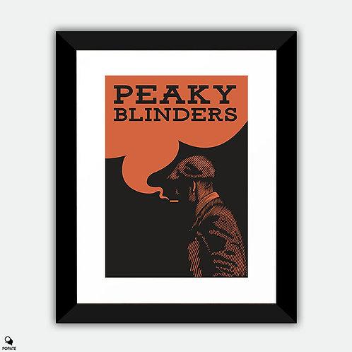 Peaky Blinders Vintage Framed Print - Tommy