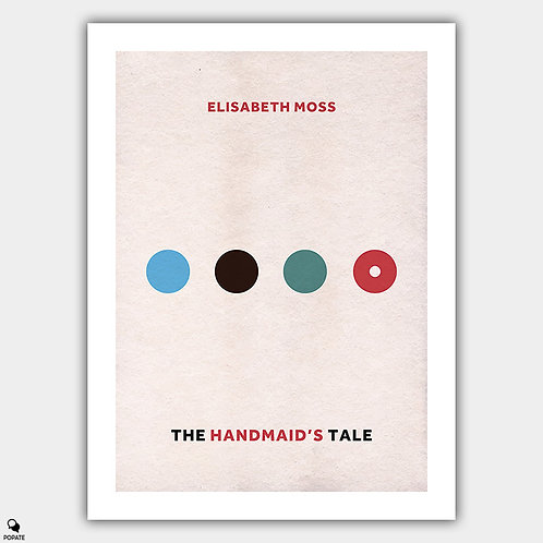 The Handmaid's Tale Minimalist Poster - Women of Gilead