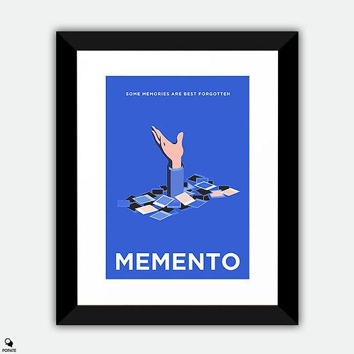 Memento Minimalist Framed Print - Memories
