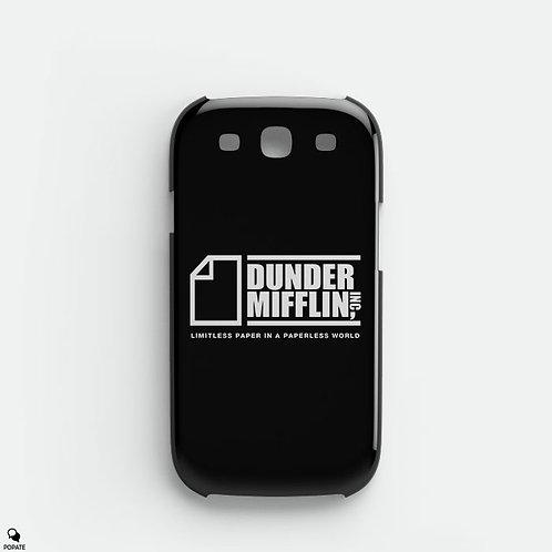 Dunder Mifflin Alternative Galaxy Phone Case from The Office