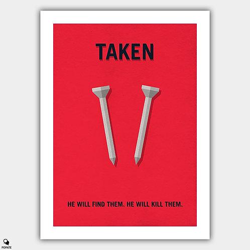 Taken Minimalist Poster